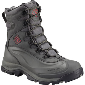 Columbia Bugaboot Plus III Boots Omni-HEAT Men charcoal/bright red